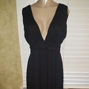 Beautiful lovers & Friends black maxi dress